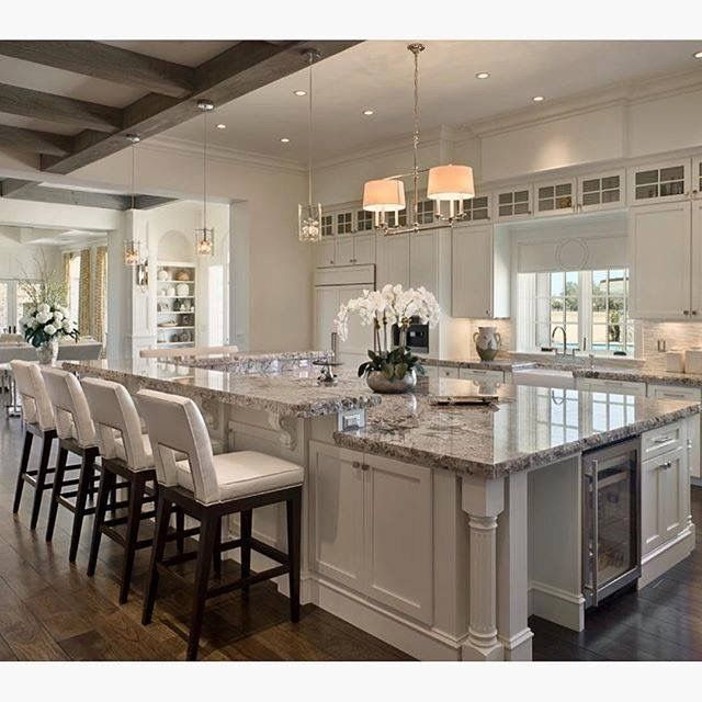 Floating Kitchen Island Designs: Love This Kitchen. And That Island!