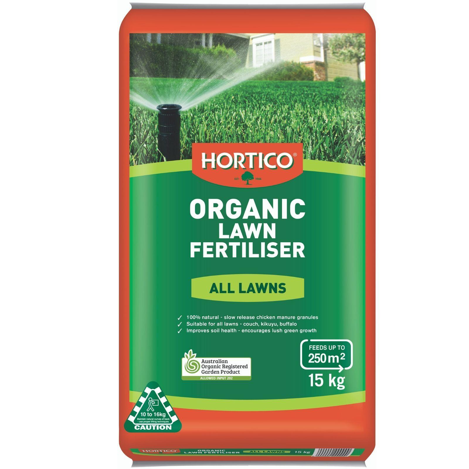 Hortico 15kg Organic Lawn Fertiliser in 2020 Organic