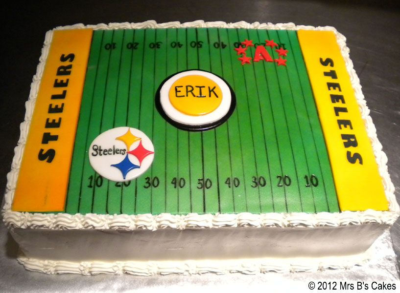 New Orleans Steelers Sheet Cake Football Themed Cakes for the