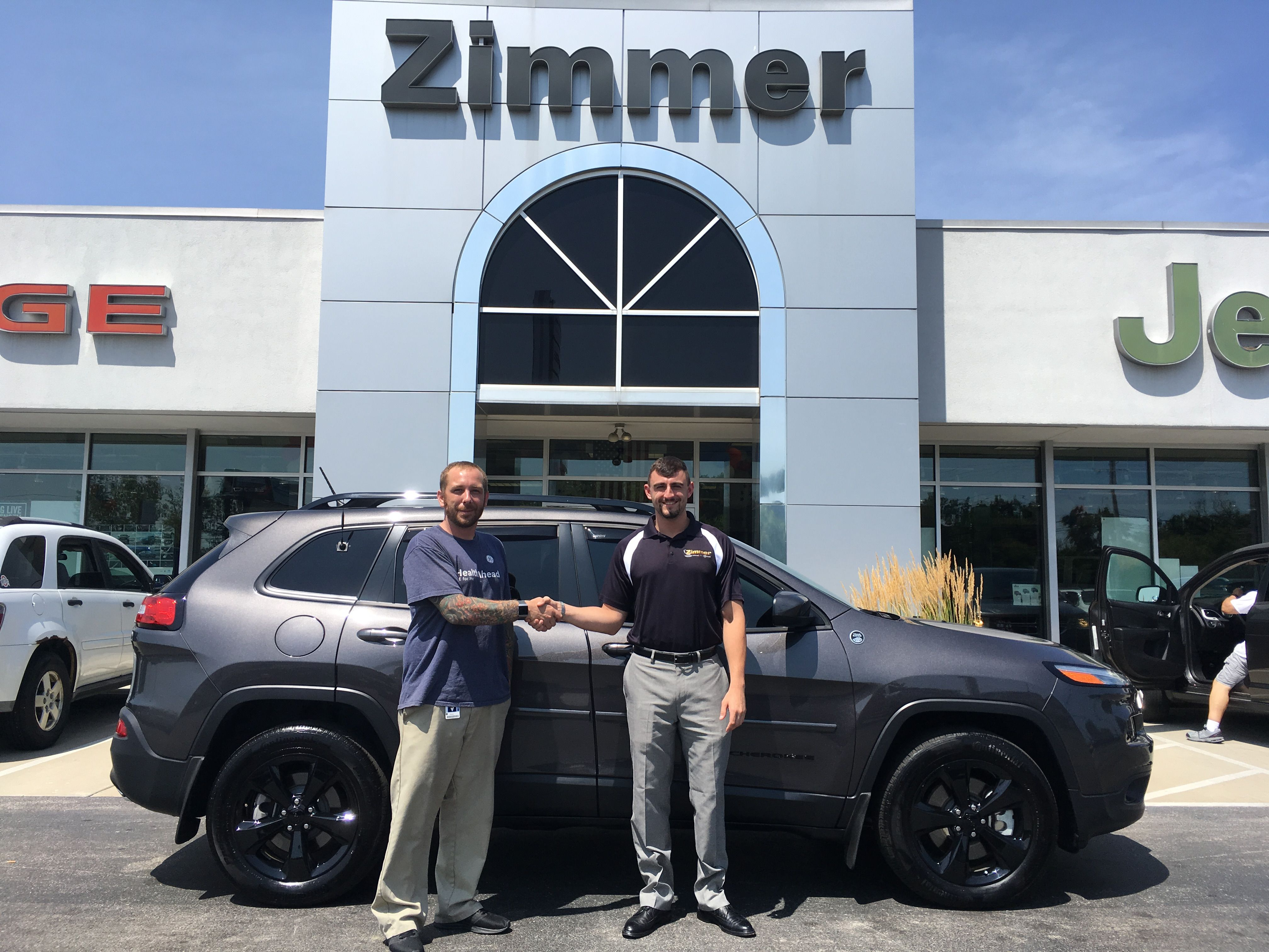 Congratulations to Kelvin Brooks on buying his new (to him