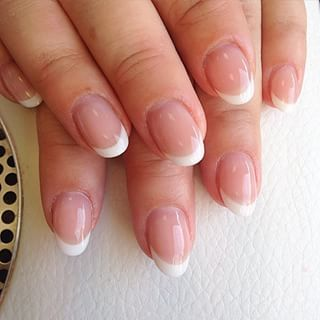 short round gel nails  google search  rounded acrylic