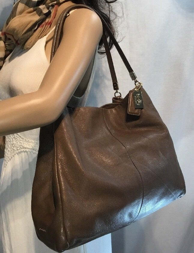 Pre-owned - Leather bag Coach wy0Qw
