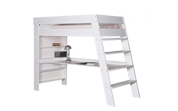 Hochbett – für Erwachsene und Kinder: Hochbett mit Schreibplatz von ...