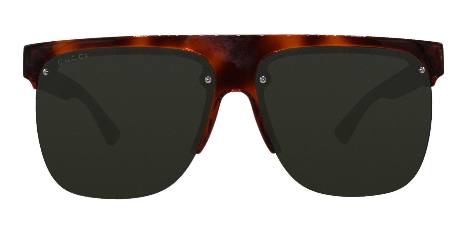 a13bf9e72f Gucci - GG0171S Tortoise - Green sunglasses