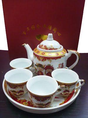 Chinese Wedding Couple Tea Set Singapore Wedding Tea Chinese Wedding Tea Set