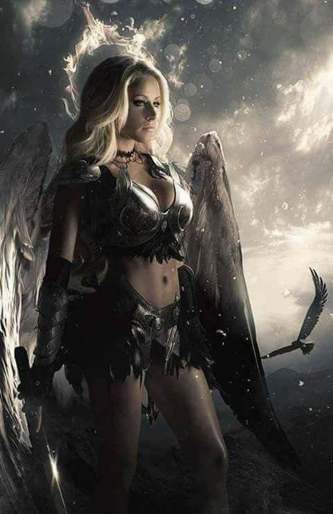 Idea By Lil Kitteh On Fantasy Fantasy Women Fantasy Girl Dark