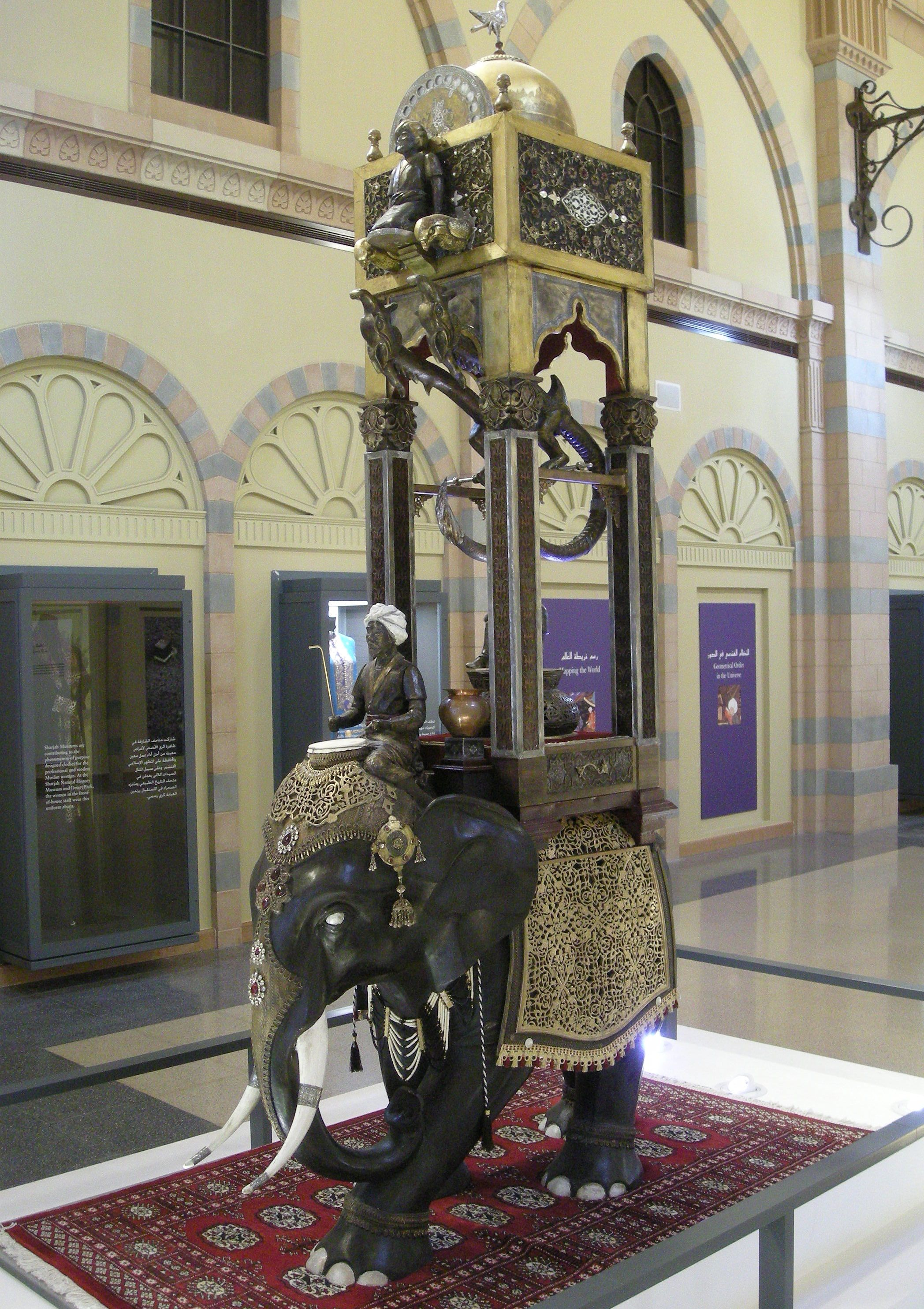 Top 10 Muslim Inventions Pouted Com Islamic Culture Art Elephant Clock History Infographic