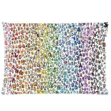 Custom Cute Pokemon theme Two Sides Printed for 20'X30' Zippered Pillow Case Cover -- Remarkable product available now. : DIY : Do It Yourself Today