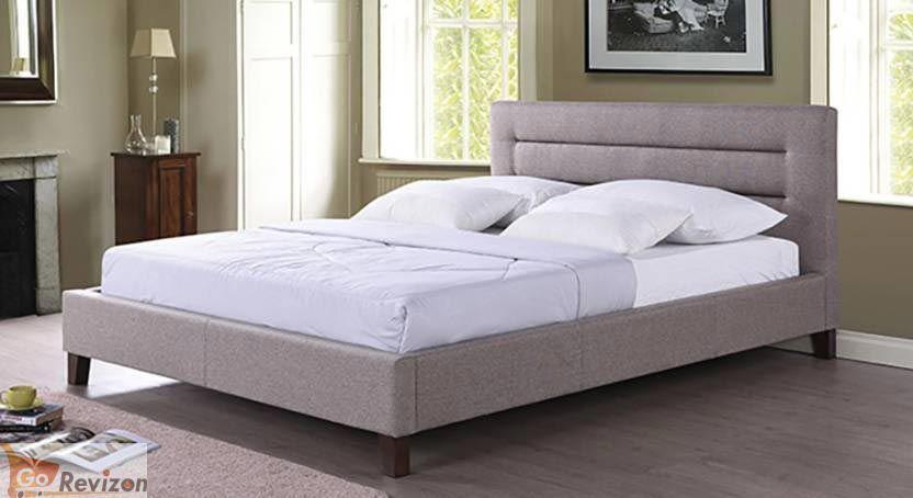 Gorevizon Upholstered Engineered Wooden Queen Bed Wood And Upholstered Bed Bed Design Bed