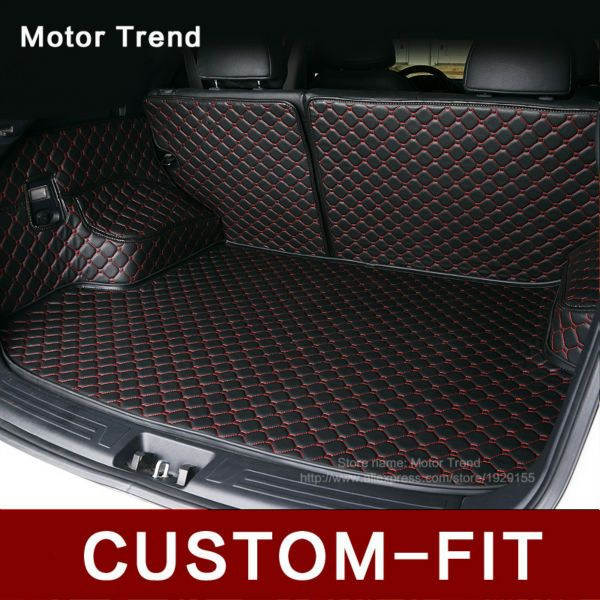 Custom Fit Car Trunk Mat For Ford Edge Escape Kuga Fusion Ecosport Explorer Focus Fiesta Car