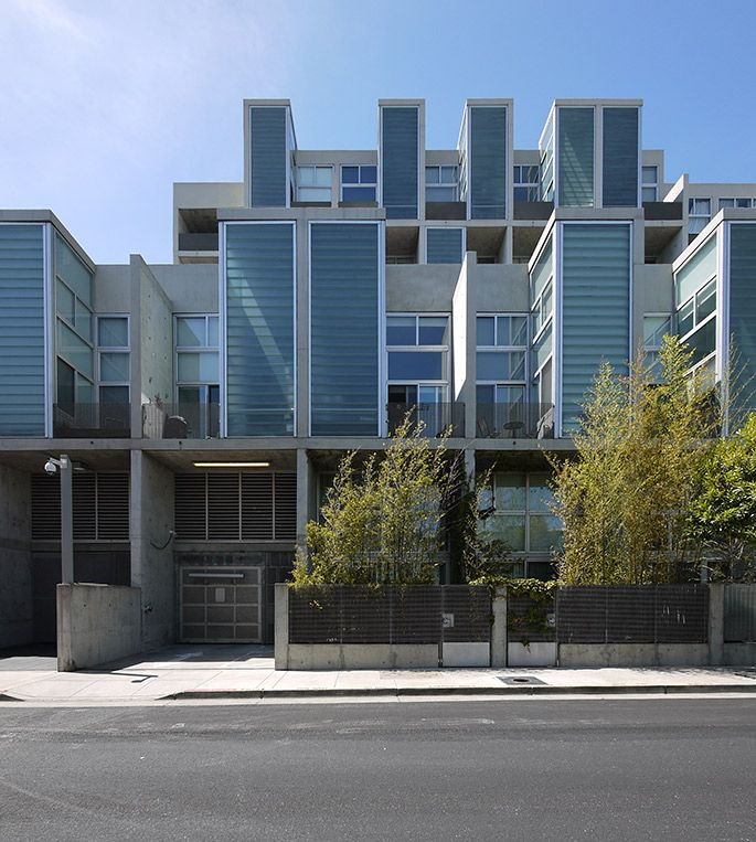 Stanley Saitowitz Part - 31: A+t - Stanley Saitowitz/Natoma Architects. Yerba Buena Lofts. San Francisco