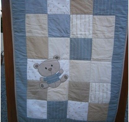 Colchas patchwork pinteres - Colchas cuna patchwork ...