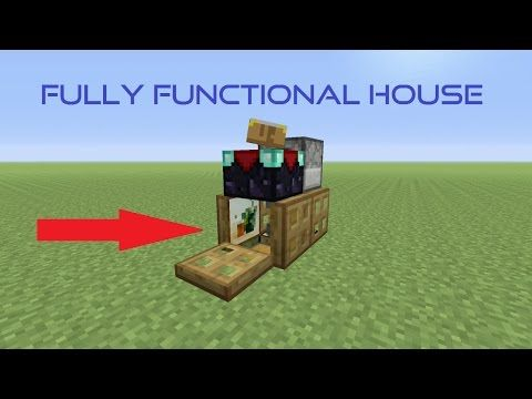 Possibly The Smallest Minecraft House Ever (New World Record?)   YouTube