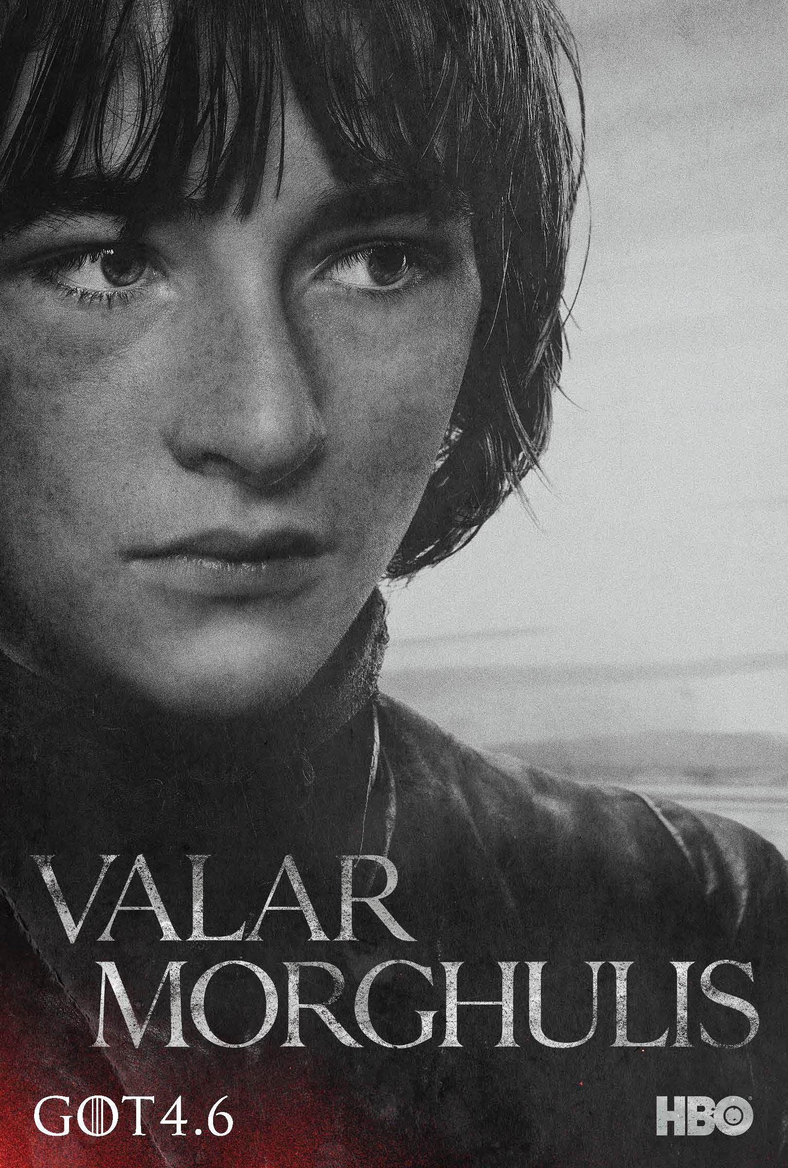 Poster Le Trone De Fer Game Of Thrones Saison 4 Bran Stark
