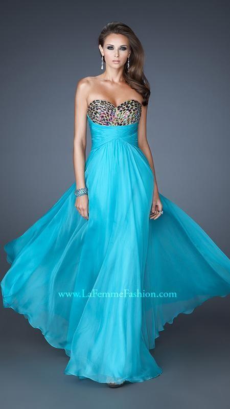 18846 | La Femme Fashion 2013 } La Femme Prom Dresses - Multi ...