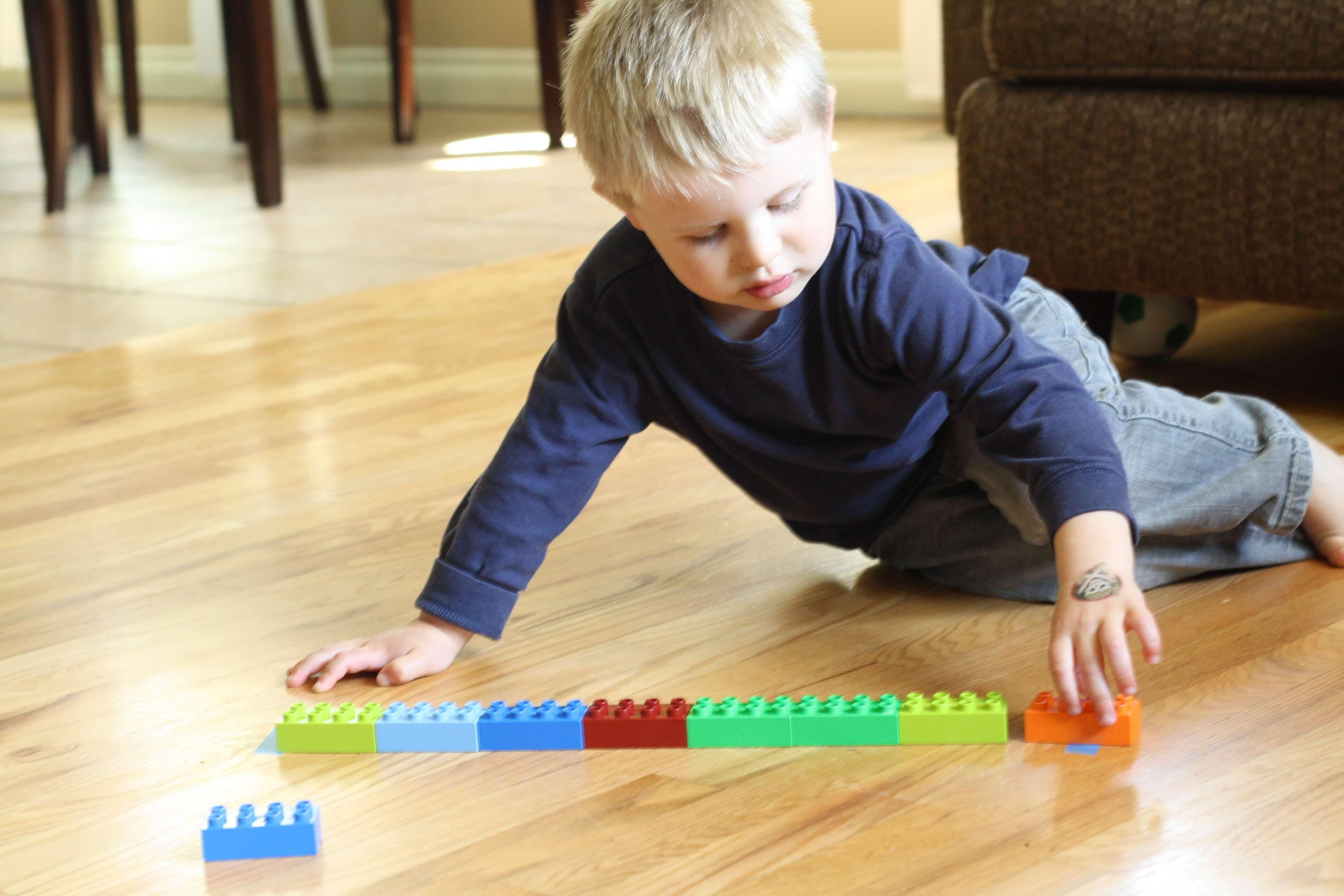 How Many Legos Long