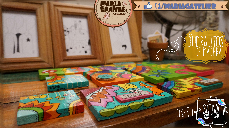Cartelitos para colgar Pintados a Mano By SativaDeArte https://www.facebook.com/mariagatelier