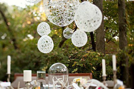 DIY – Des lanternes À partir de ballons, ça semble simple et c'est joli (plutôt en petit pour mettre sur les tables parce que sinon, ça demande beaucoup de plafond)