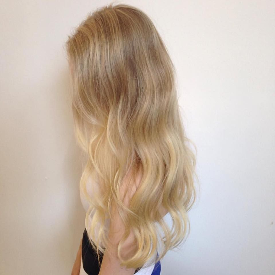 Blonde mermaid hair by alisha mortensen for edwards and co sydney