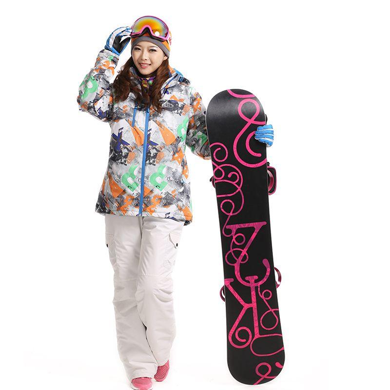 Snowboard Jacket Women And Skiing Pantalones Mujer Winter
