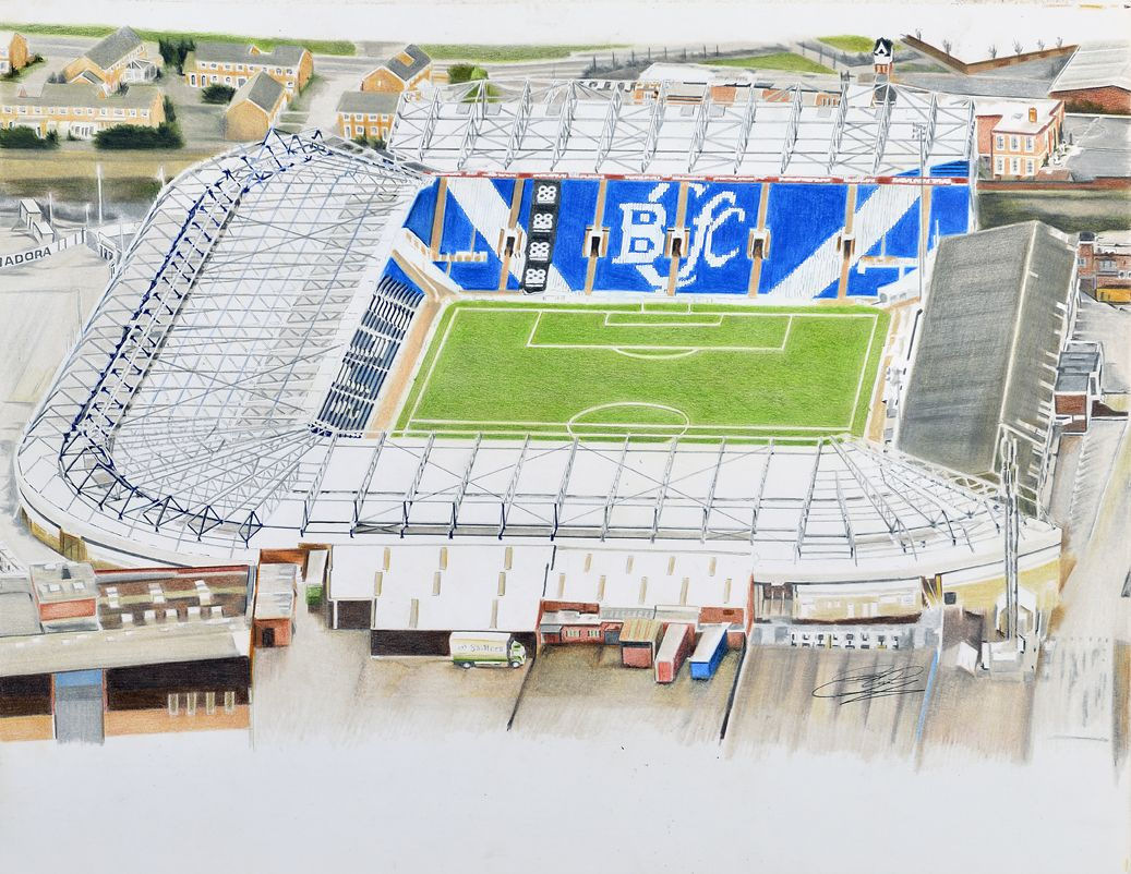 St Andrews - home of Birmingham City FC by Brian Casey. Available on ...