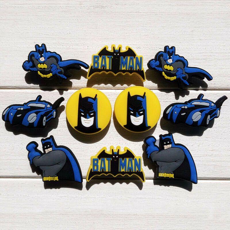 d547a94ae 20pcs Lot Batman PVC Shoes Charms fit for Croc   Jibbitz Wristband as Kids  Gifts  affilink