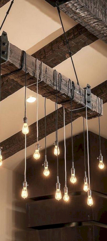 23 Rustic Wedding Lighting Design For Amazing Wedding Reception Ceiling Pendant Lights Rustic Lighting Wooden Lamp #rustic #living #room #lights