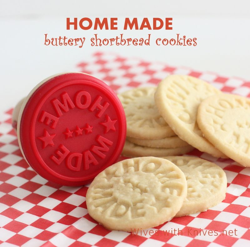 Buttery Shortbread Cookies ~ HOME MADE | Wives with Knives