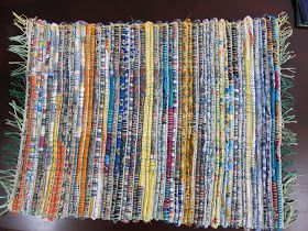 Thinking Out Loud Weaving A Rag Rug On The Rigid Heddle