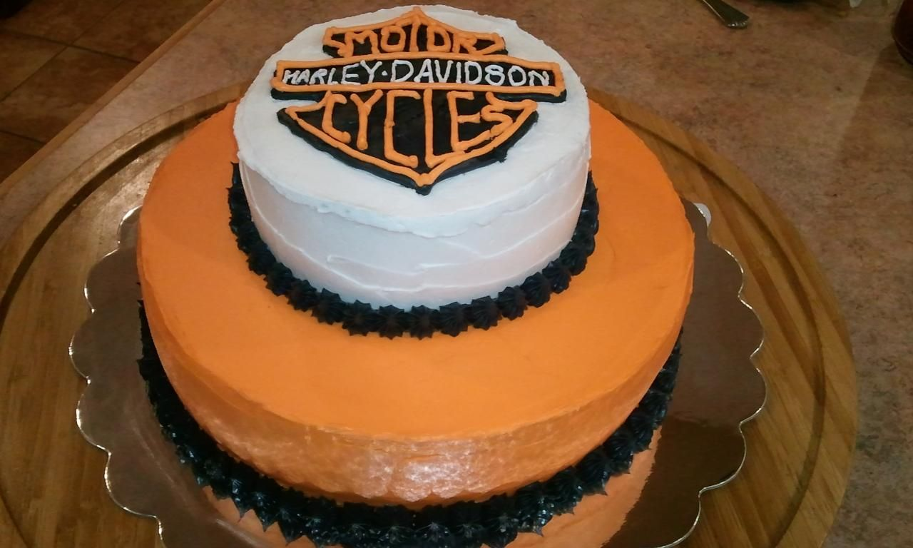 Harley cake we made cake desserts food