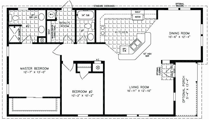 1000 Square Foot Cabin Mobile Home Floor Plans Manufactured Homes Floor Plans Cabin Floor Plans