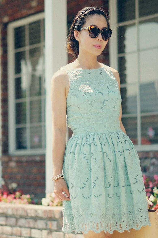 mint green lace summer wedding dress | BOHEMIAN LUXE | Pinterest ...