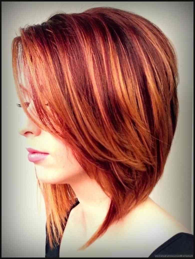 Rote haare farbe ideen mit blonde highlight Überprüfen sie mehr