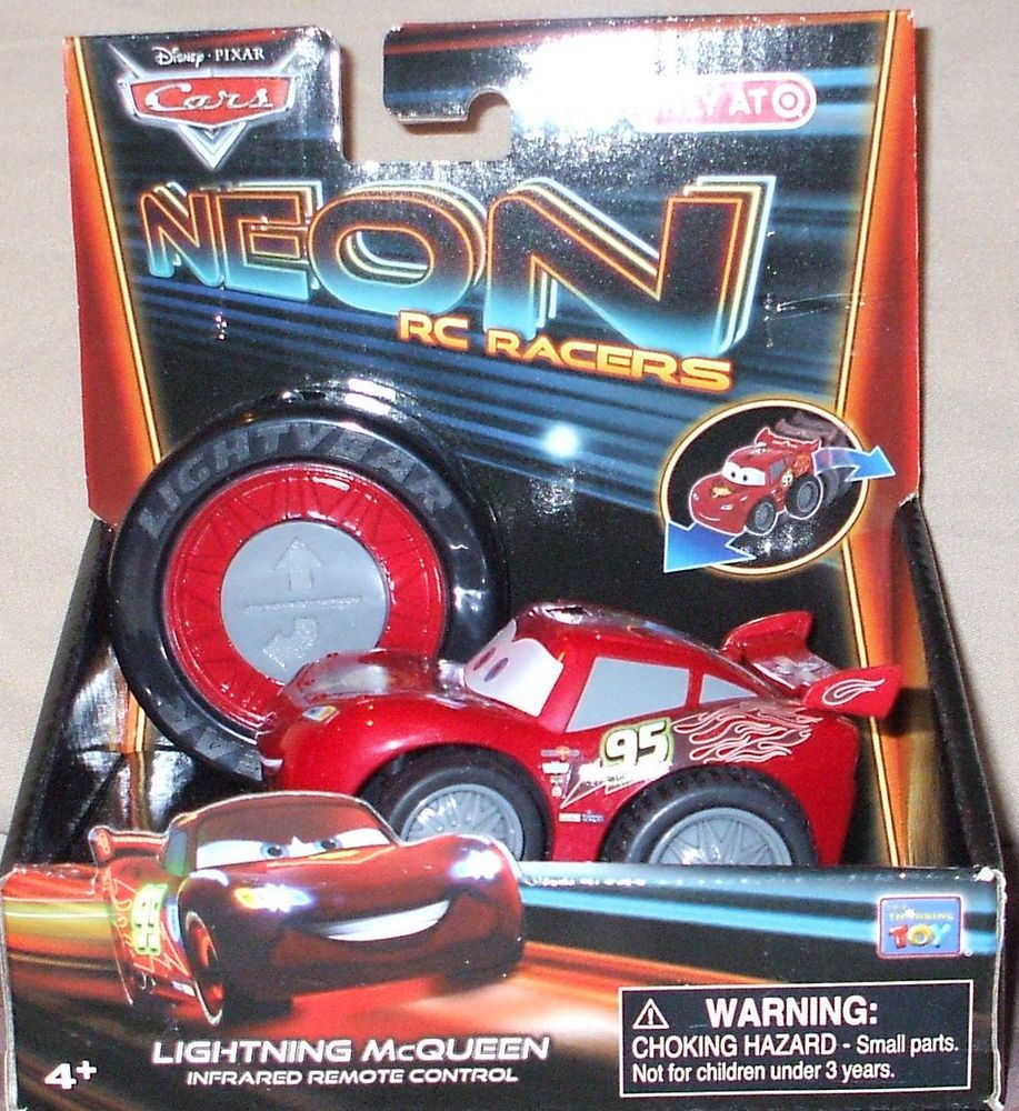 Target Disney Pixar CARS NEON R/C RACERS LIGHTNING
