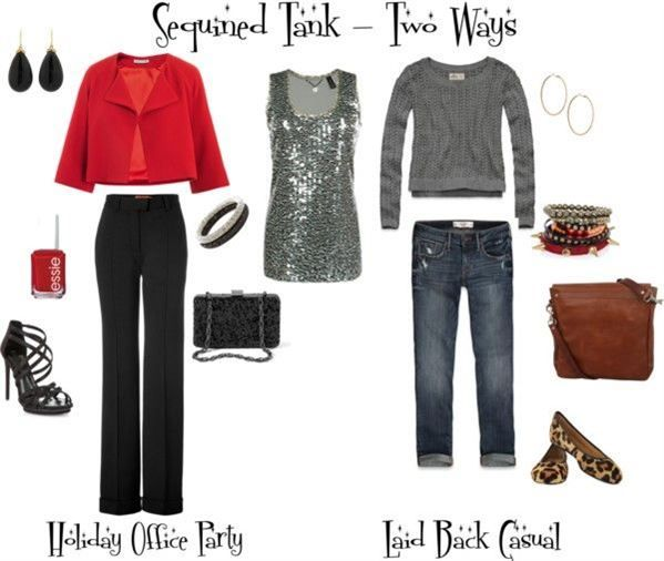 8 Outfit Ideas For Casual Christmas Party