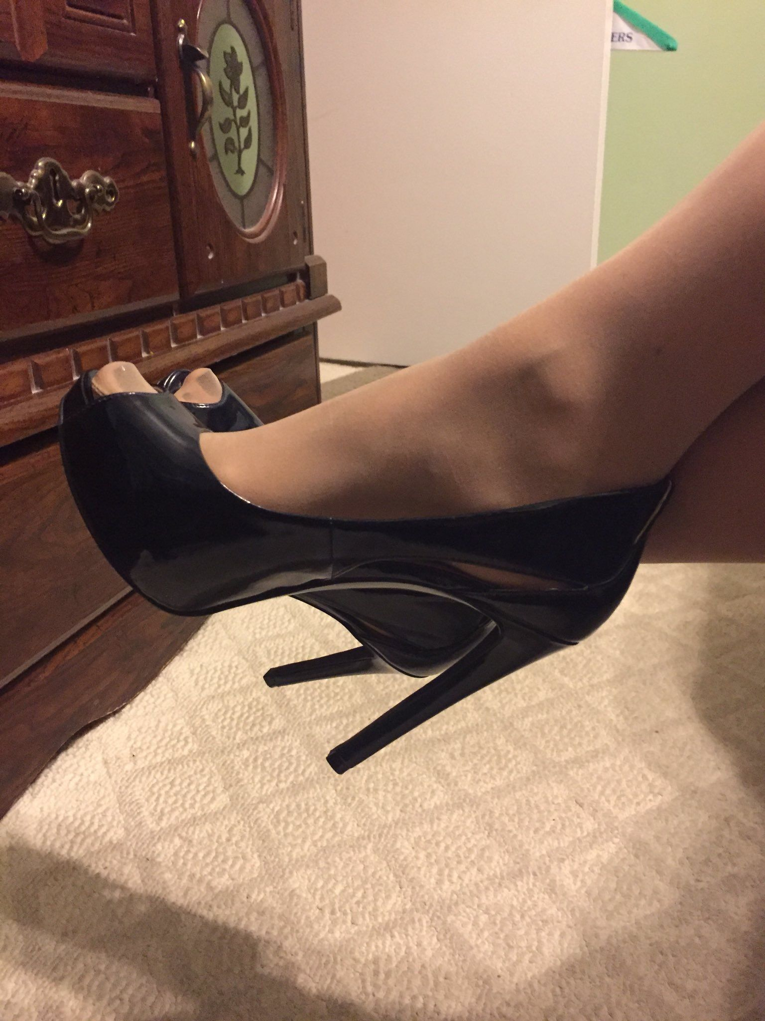 Teen Stockings Heels Anal