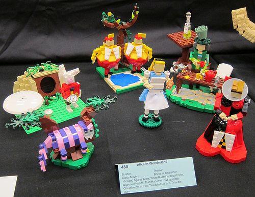 Lego Brickcon Disney Alice In Wonderland Alice In