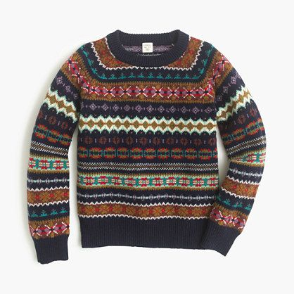 The classic Fair Isle sweater has never looked better, thanks to ...