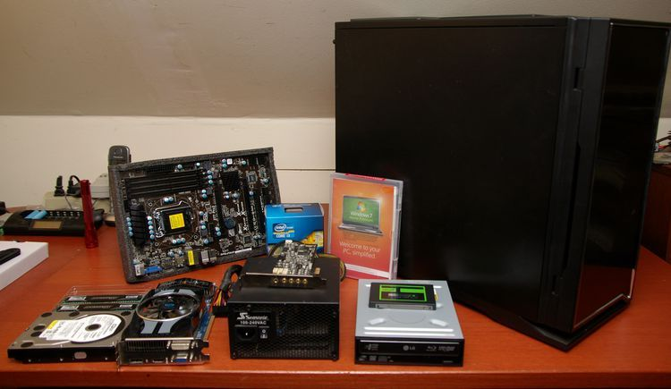 Everything You Need To Build Your Own Pc Computer Build Build Your Own Desktop Desktop Computers