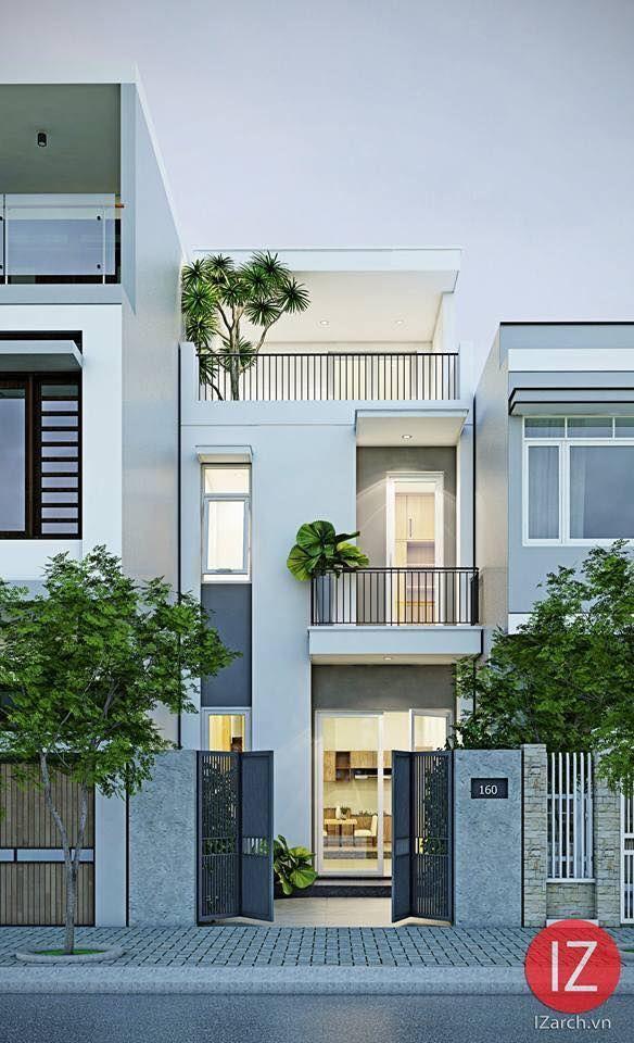 Pin oleh indi rosas di exterior casas casas modernas for Fachadas de casas modernas de interes social
