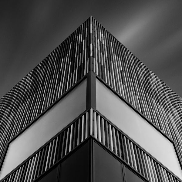 Urban architecture captured in black and white by Munich-based photographer  Nick Frank.