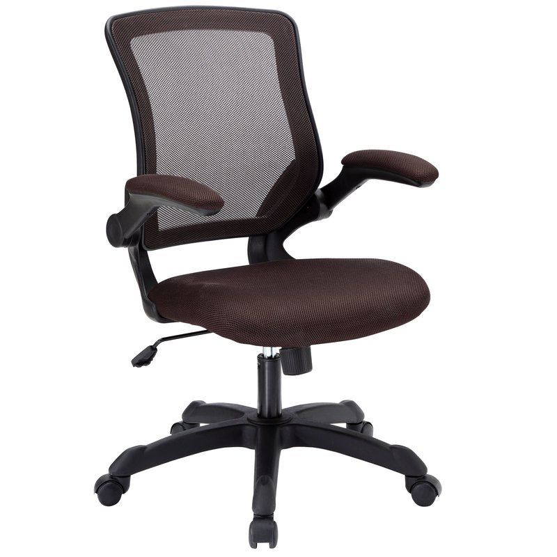 Mesh task chairs with arms