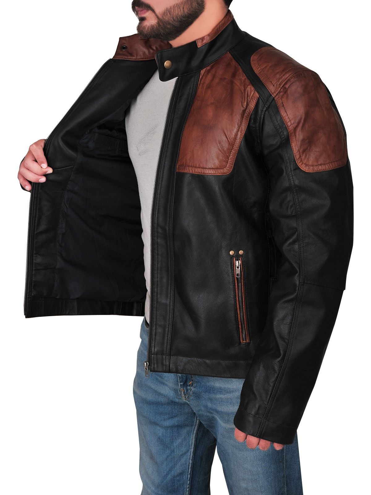 Harley Davidson Triple Vent Style Jacket Leather jacket