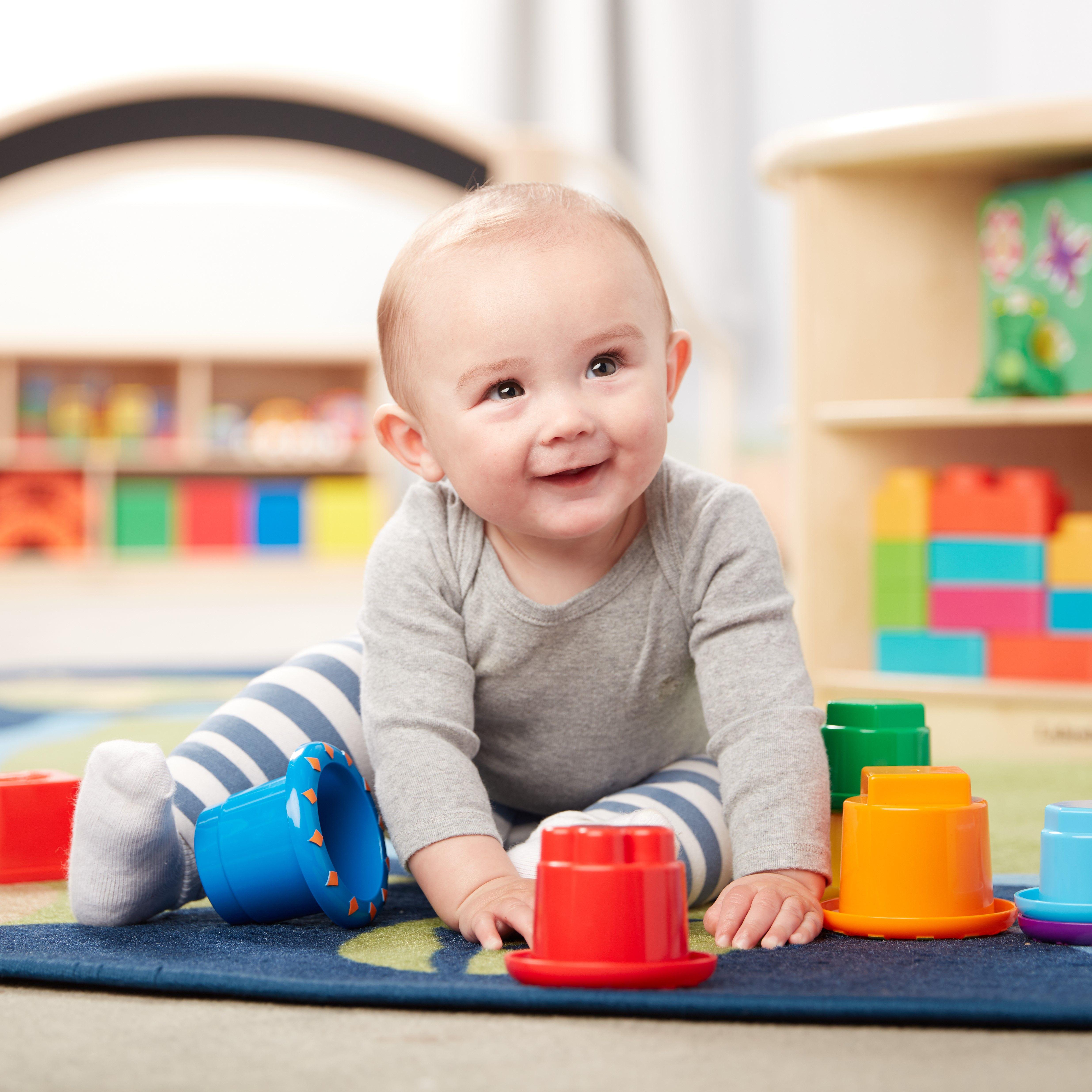 Stack & Nest Sensory Toys | Sensory toys Baby toys ...