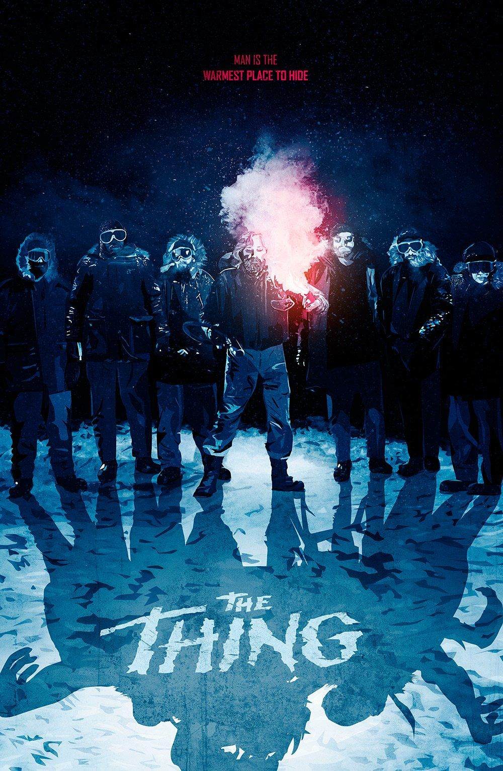 The thing 1982 hd wallpaper from creeps - Movie poster wallpaper ...