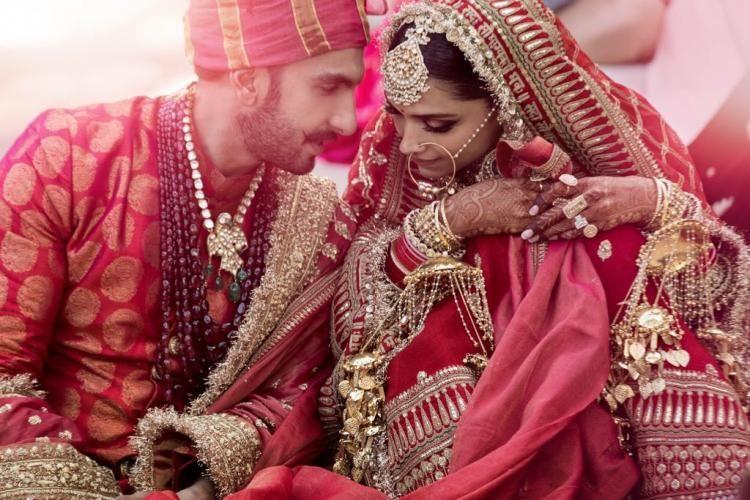Sabyasachi Mukherjee Shared The Making Of Deepika Padukone And Ranveer Singh S Sindhi Wedding Outfits Watch Deepika Ranveer Bollywood Wedding Indian Wedding Photography