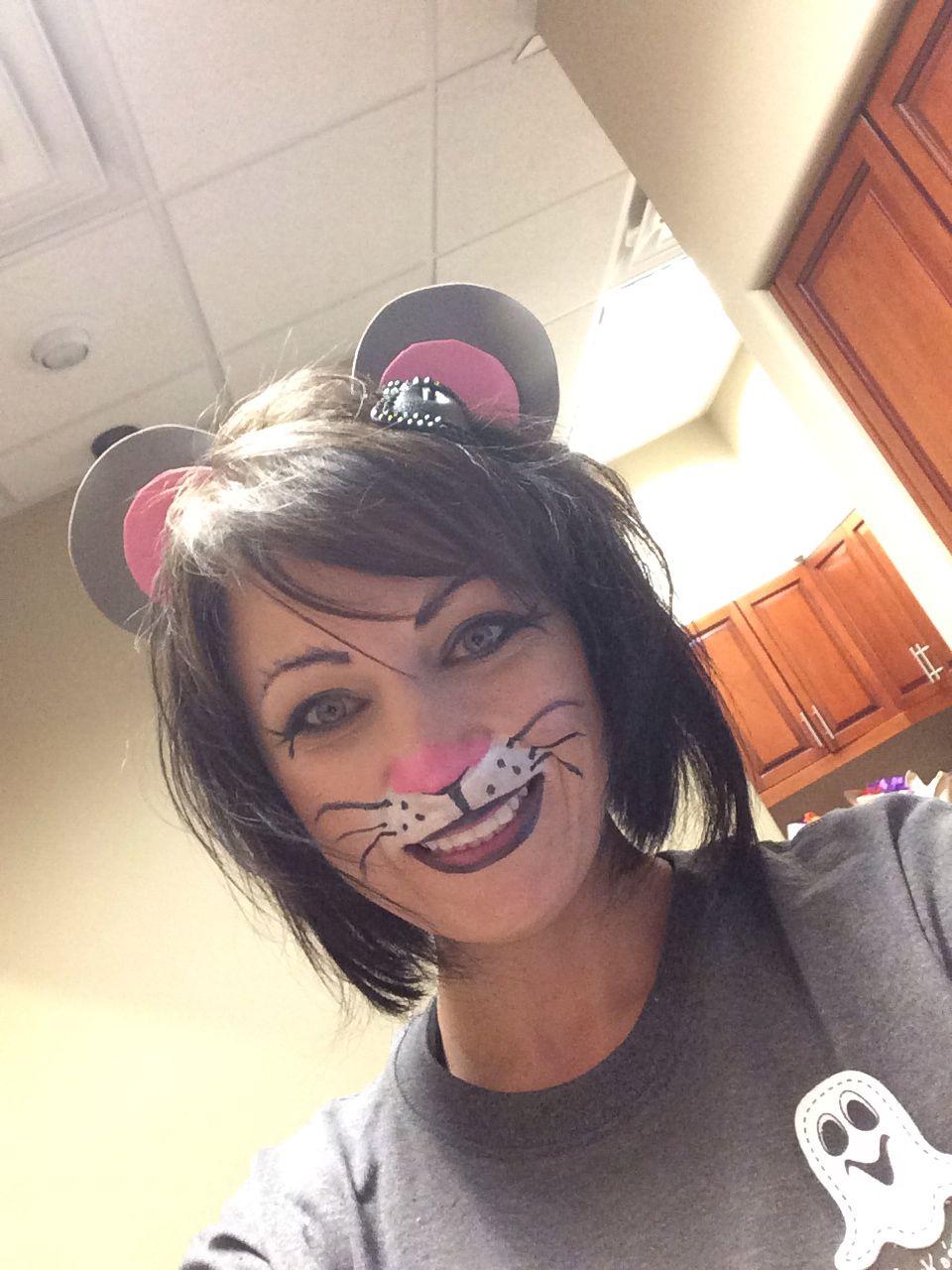Mouse Face Paint : mouse, paint, Mouse, Painting, Paint,, Halloween, Costumes, Makeup