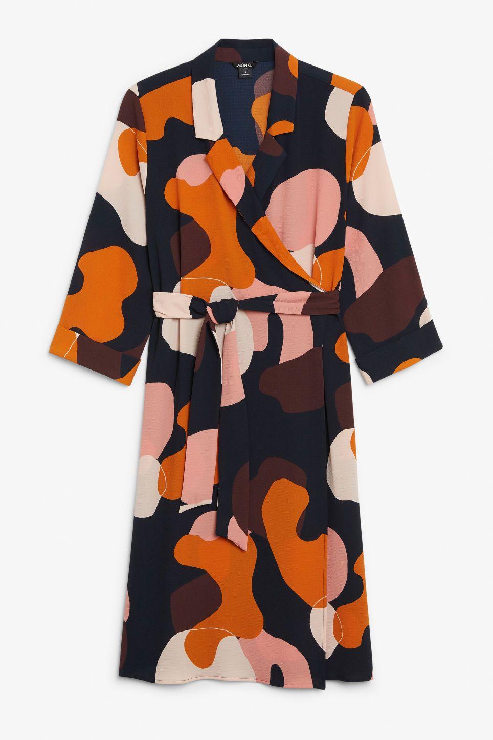 Dress Dressy Dresses In 2019Jenessa's Print Abstract Wrap Ybf76gy