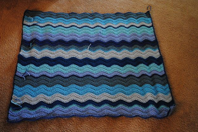 Ravelry: scullybubbles322s ocean waves mycrochet applique afghans