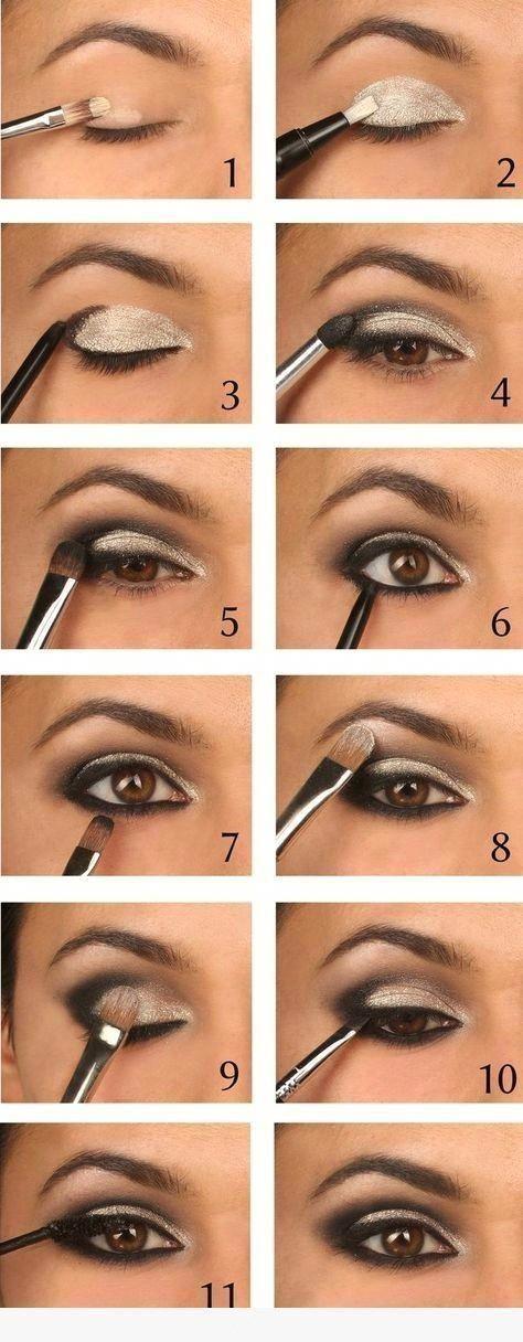 Maquillaje de ojos paso a paso #Eyemakeup #eye #eyemakeup #makeup